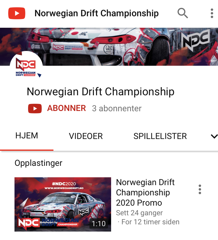 Official NDC Youtube channel